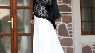 2017 Tesettür Abiye Kıyafetler