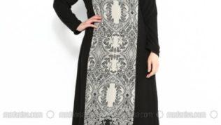 Moda Nisa 2017 Büyük Beden Elbise Modelleri