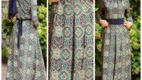 Sefa Merve 2017 Tesettür Elbise Modelleri
