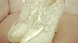 Tesettür Gelinlik Ayakkabıları
