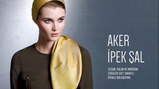 Aker İpek Şal Modelleri 2018