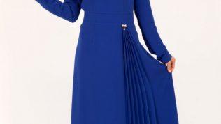 2017 Bayan Tesettür Giyim Elbise Modelleri