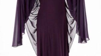 2017 Tesettür Büyük Beden Elbise Modelleri