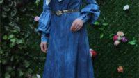 2017 Tesettür Kot Elbise ve Tunik Modelleri