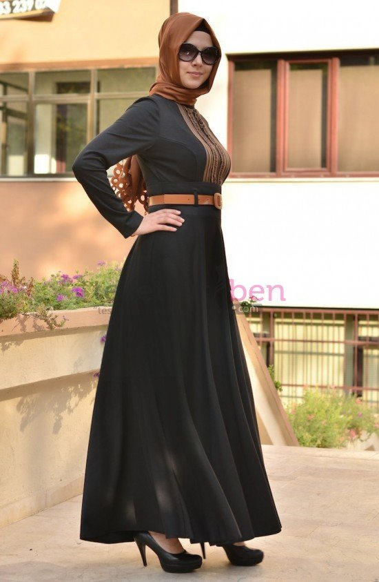 Aramiss Elbise Siyah