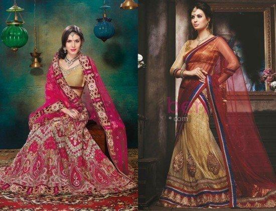 Kına Gecesi Hint Elbiseleri