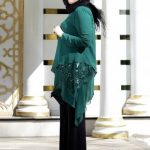 Katlı Tunik&Pantolon İkili Abiye Takım - Yeşil - Nesrin