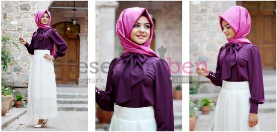 Pınar Şems Tesettür Gömlek ve Bluz