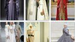 Pelerinli Tesettür Abiye Modelleri 2017