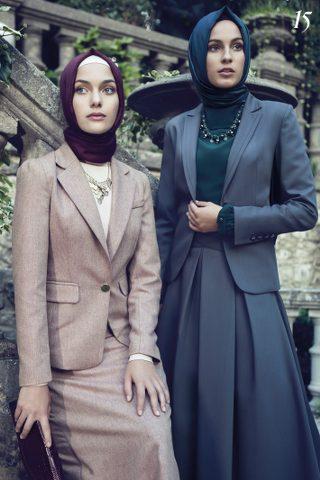 TuğbaTesettür Giyim Etek Ceket Modelleri