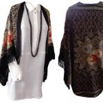 Vintage Kısa Kimono Modeli