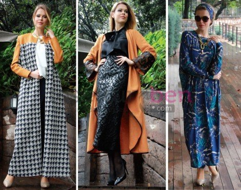 Anna Giyim Tesettür Modelleri