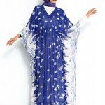 Beli Büzgülü Desenli Kazzaz Elbise Saks