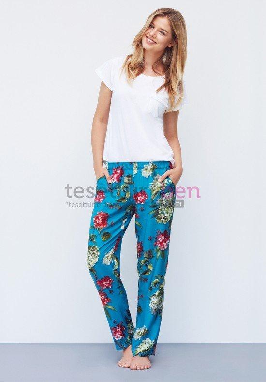 Catherines Çiçek Desneki Pijama Takımı
