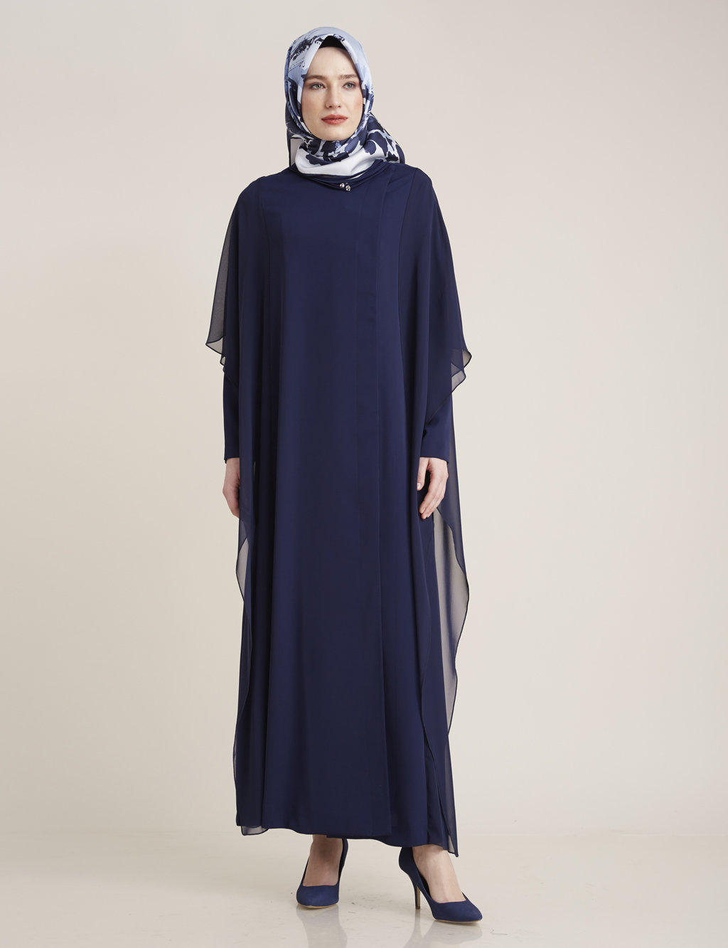 Kayra Giyim Salaş Dökümlü Giy-Çık Lacivert
