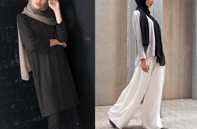 İnayah Charcoal Kimono Sleeve Shirt Kombini
