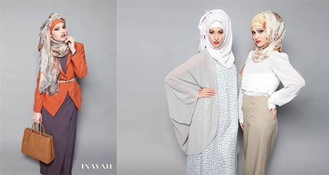 İnayah Tesettür Giyim Modelleri