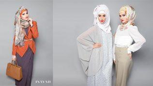 2017 İnayah Tesettür Giyim Modelleri