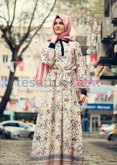 2017 Vintage Elbiseler