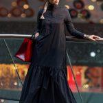 Oxford Abiye Elbise Siyah Muslima Wear