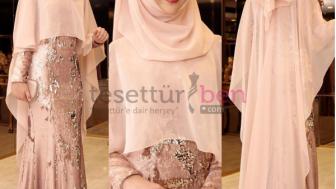 32e2d0d3a666a Pınar Şems Abiye Elbise Modelleri. Tesettür giyimde harika tasarımlarıyla  dikkat çeken Pınar Şems ...