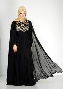 Büyük Beden Yazlık Abiye Elbise Modelleri Alvina