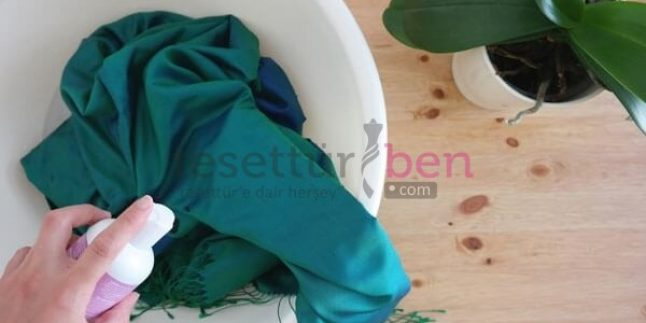 İpek Eşarplar Nasıl Yıkanır ve Temizlenir